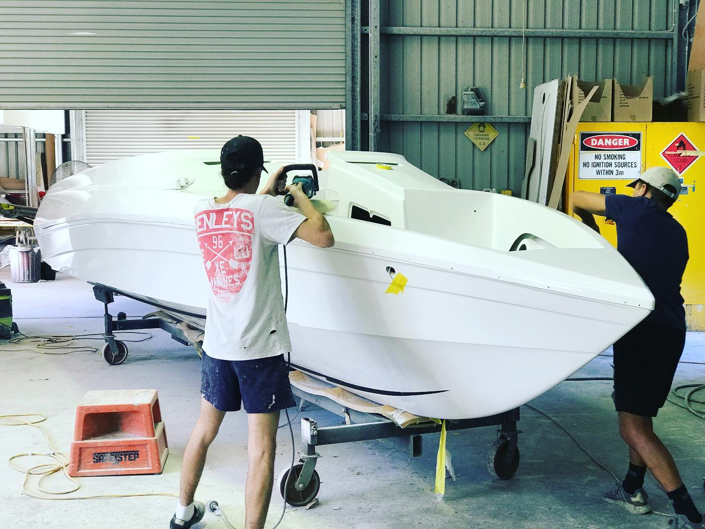 Workshop News: May 2020 – Force F24B Build