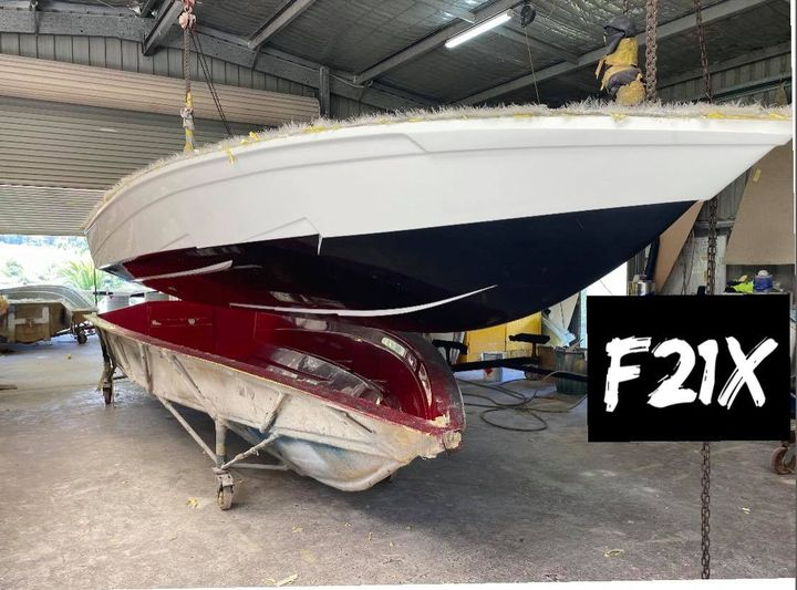 Workshop Update: Check out the latest FORCE F21X as it releases perfectly from the mould!