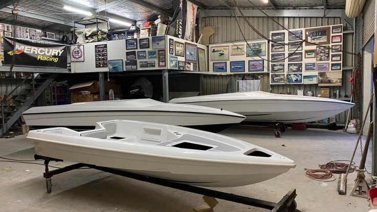 Workshop Update - 3 White Force's hit the Fitout stage!