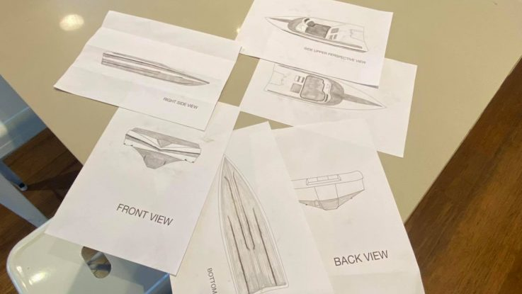 Helping to recognise your boating dreams is one of the best feelings we get here at Force Boats. The process starts with your colour selection. Keep your eye on this page to see how this Force comes to life!
