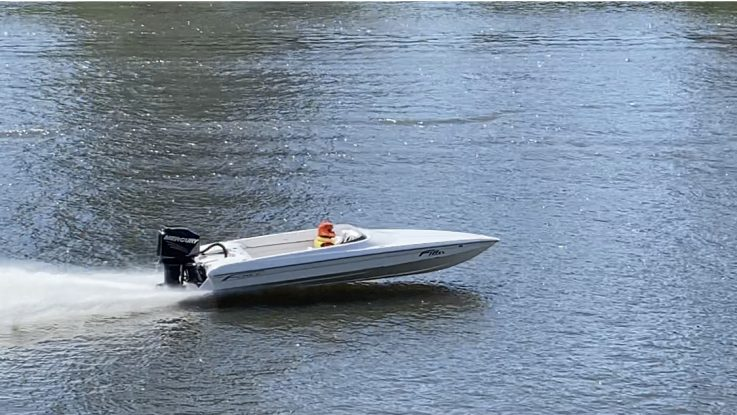 The Force F18x wins 4 out of 4 in mono class at the Windsor Power Boat Club day! Congratulations Boe!
