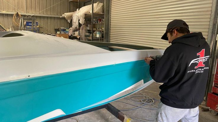 June Workshop Update: Our first F21XB in Turquoise