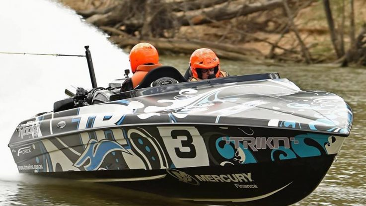 Force Boats Breaking Records at the Southern 80 Water Ski Race