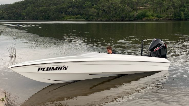 The Latest Force F19X Outboard to hit the water!
